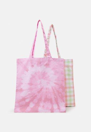FACY TOTEBAG ZAL 2 PACK  - Tote bag - misty rose/bright white