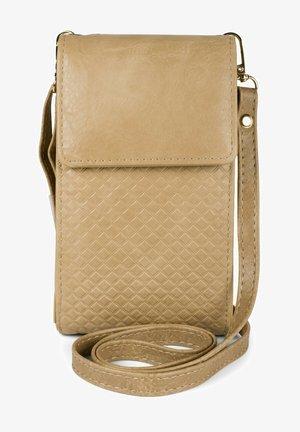 BREAKER  - Across body bag - beige