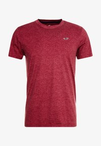 Hollister Co. - CREW - Print T-shirt - burg - 3