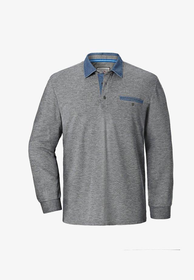 BERNWALD - Polo shirt - grey