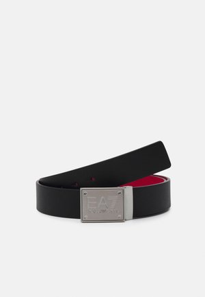 UNISEX - Belt - black/racing red