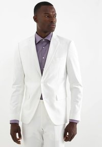 Lindbergh - PLAIN MENS SUIT - Oblek - white - 2