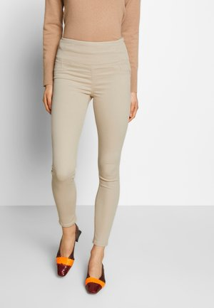 PANTALONI TROUSERS - Jegging - antica beige