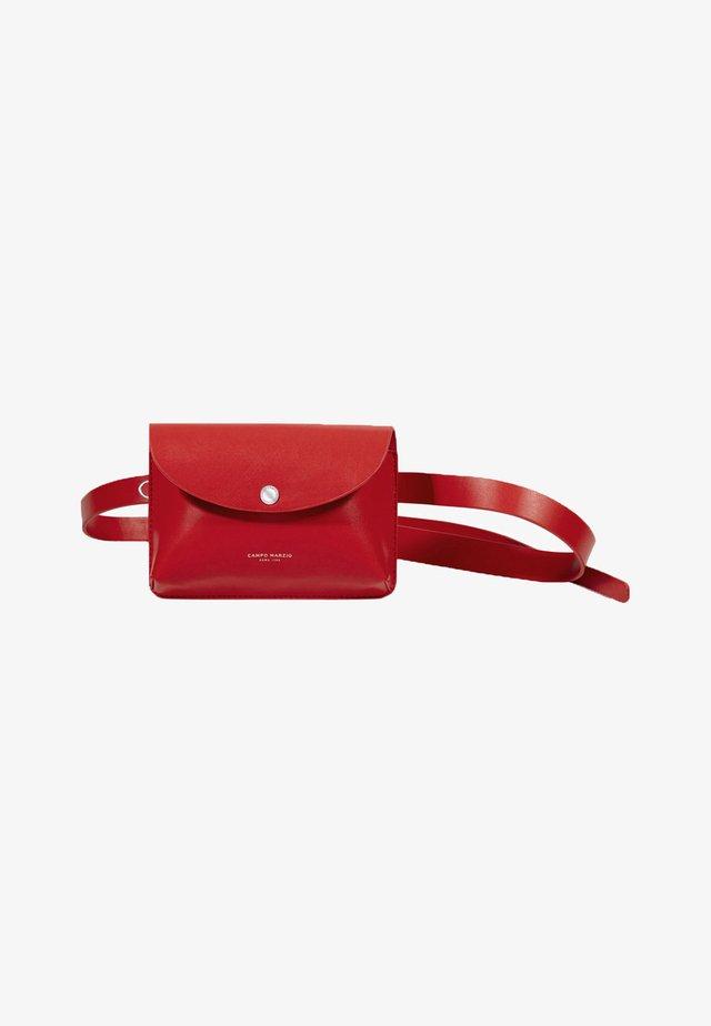 Bum bag - rosso ciliegia