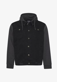 Brave Soul - Spijkerjas - black denim/dark grey - 4