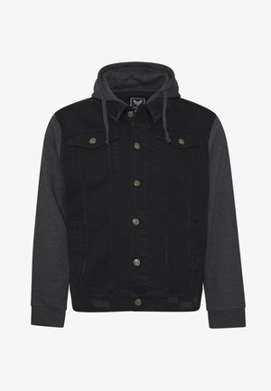 Farkkutakki - black denim/dark grey