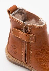 Bisgaard - TINKE - Kotníkové boty - cognac - 5