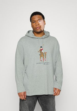 HOOD LONG SLEEVE - T-shirt à manches longues - andover heather