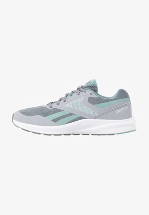 RUNNER 4.0 - Laufschuh Neutral - collegiate shadow/cold grey/green slash