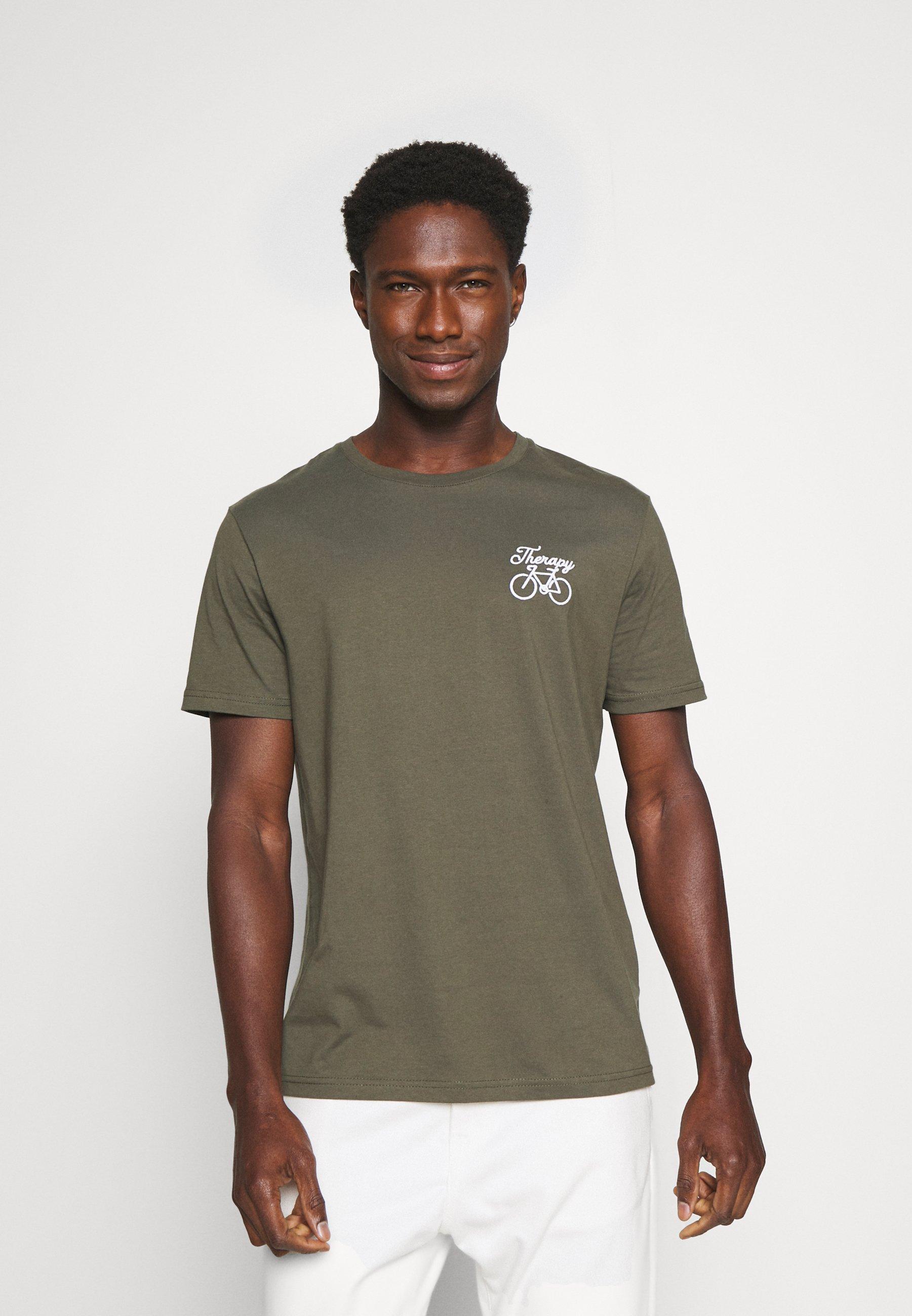Men THERAPY BIKE EMBRO - Basic T-shirt