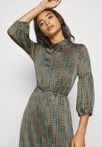 Vero Moda - VMBERTA ANKLE DRESS  - Vestito lungo - fir green - 3