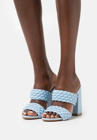 RAID - DEVYN - Pantofle na podpatku - blue - 0
