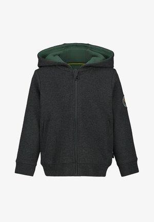 Zip-up hoodie - charcoal melange