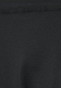Calvin Klein Swimwear - CORE LOGO TIES LOGO TIES TANGA - Bikini bottoms - black - 5