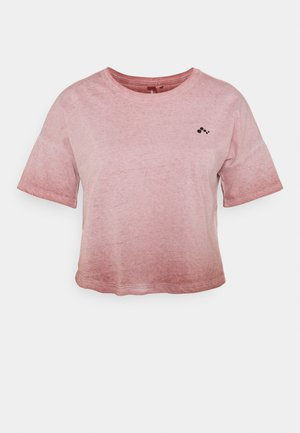 ONPDOLA LIFE CROP TEE - Basic T-shirt - withered rose