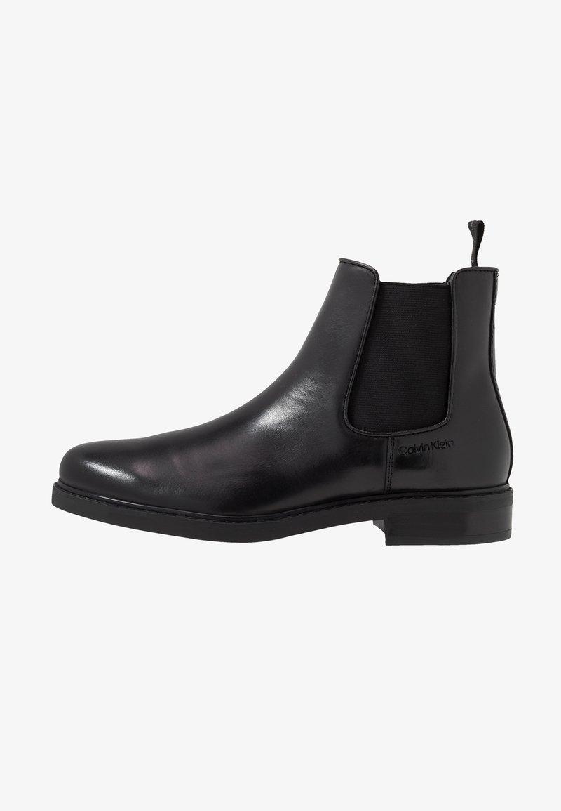 Calvin Klein - FINTAN CHELSEA - Classic ankle boots - black