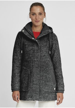 RIEKE - Short coat - dark grey melange