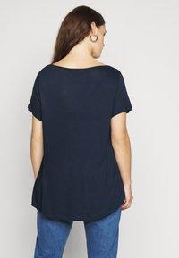 Evans - SHORT SLEEVE - Basic T-shirt - navy - 2