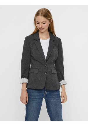 VMHARUKI - Blazer - dark grey melange