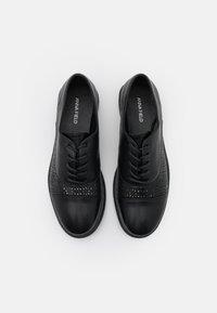 Anna Field - Šněrovací boty - black - 5