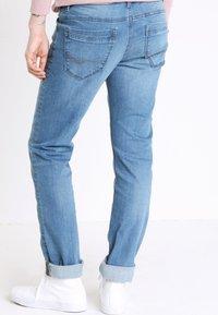 BONOBO Jeans - INSTINCT - Straight leg jeans - denim double stone - 2