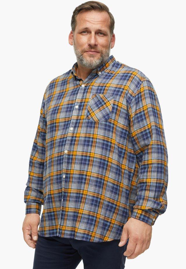 Shirt - grey/yellow check