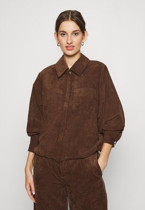 BUFFY - Button-down blouse - emperador