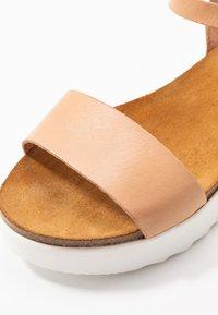 Grand Step Shoes - EDEN - Platform sandals - sand - 2