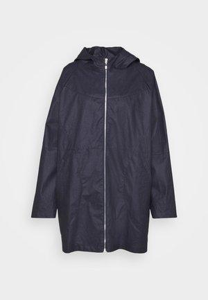 URSULE WATER REPELLENT - Klasický kabát - indigo