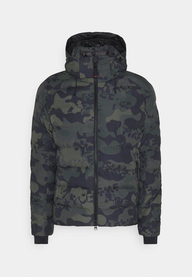 LASSE - Down jacket - dark green
