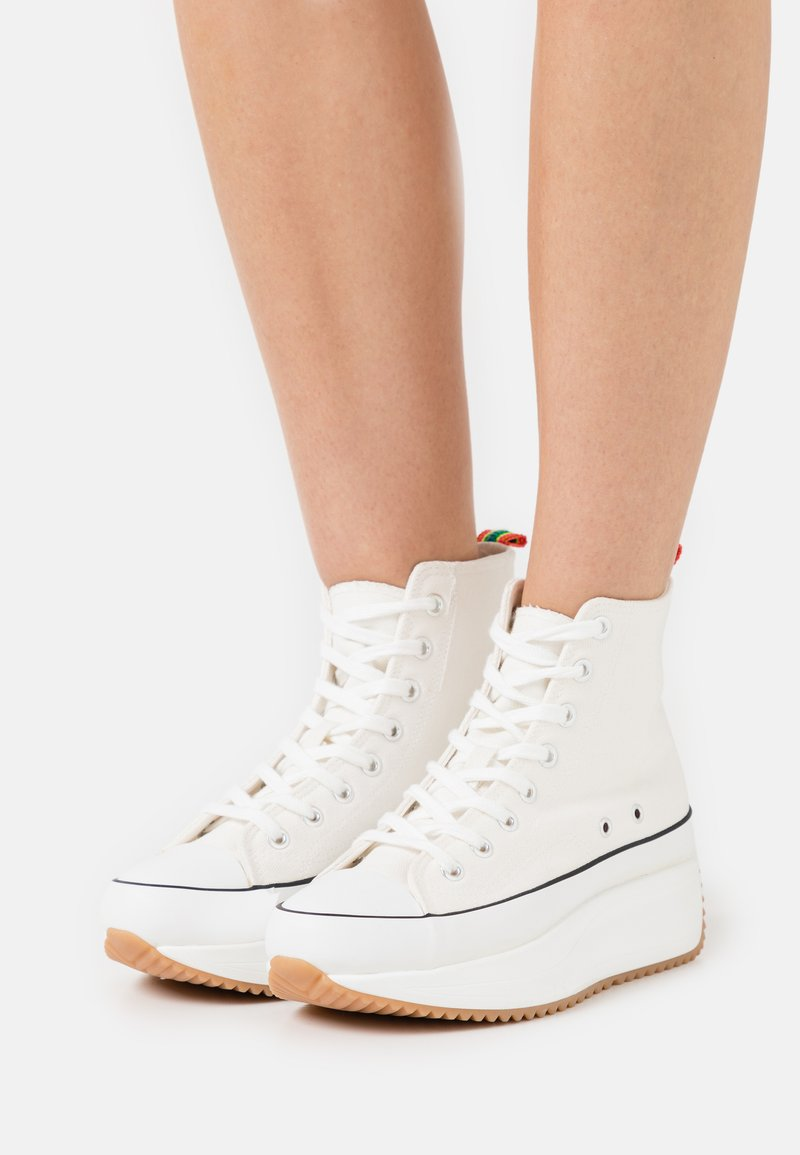 Madden Girl - WINNONA - Zapatillas altas - white
