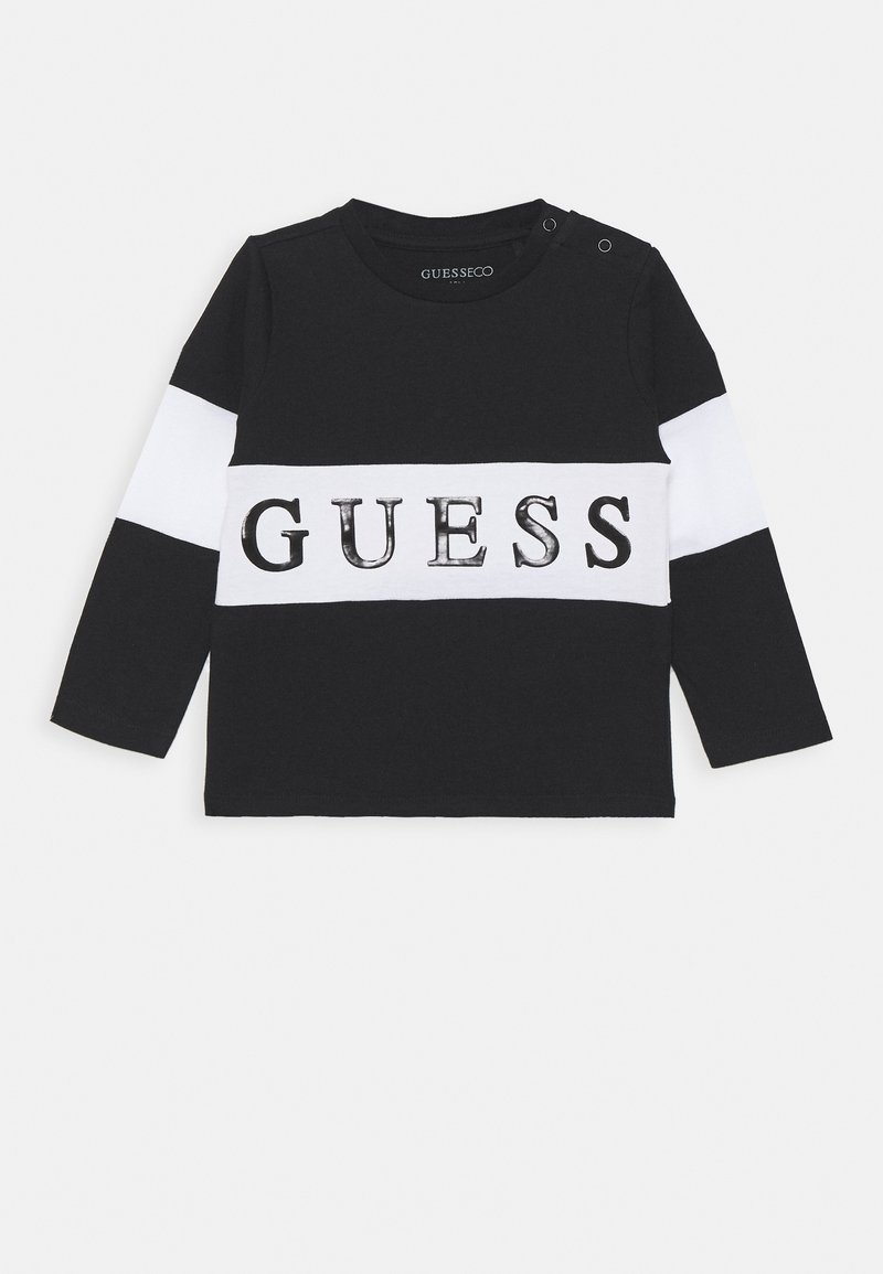 Guess - BABY - Long sleeved top - jet black