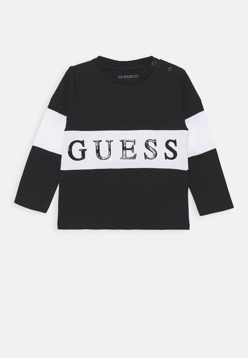 Guess - BABY - Camiseta de manga larga - jet black