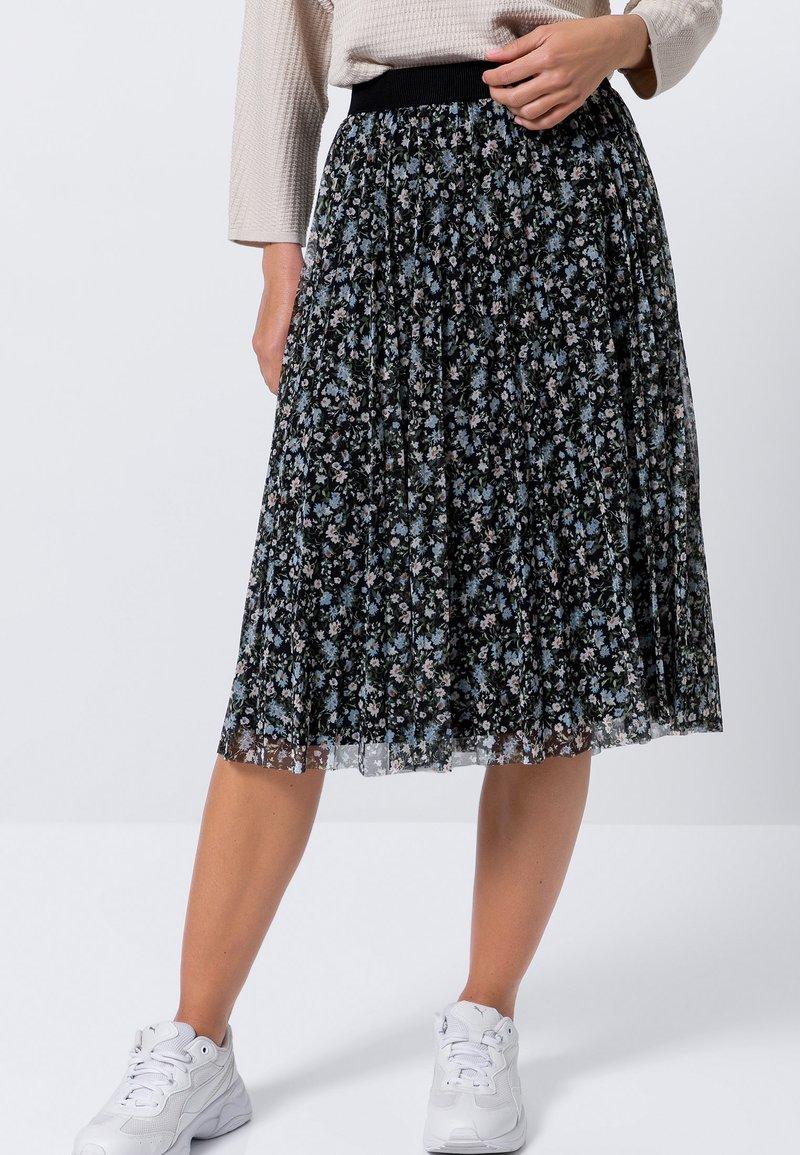 zero - A-line skirt - multi-coloured