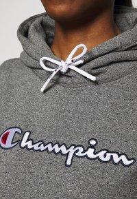 Champion - HOODED ROCHESTER - Huppari - mottled grey - 4