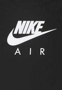 Nike Sportswear - TEE AIR CROP - Long sleeved top - black - 2