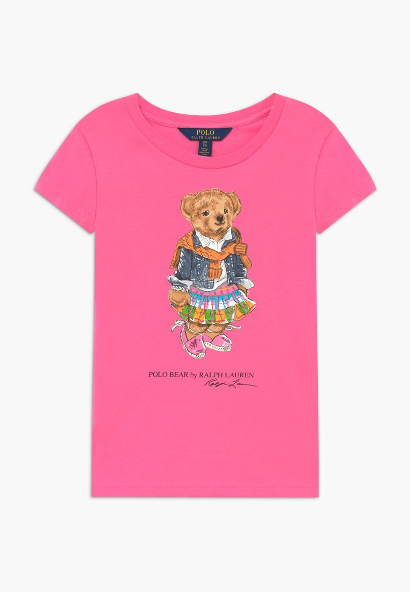 Polo Ralph Lauren - BEAR TEE - Print T-shirt - baja pink