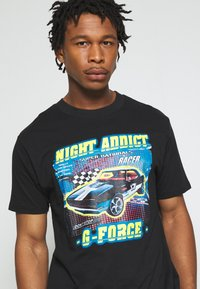 Night Addict - FORCE - Print T-shirt - black - 4