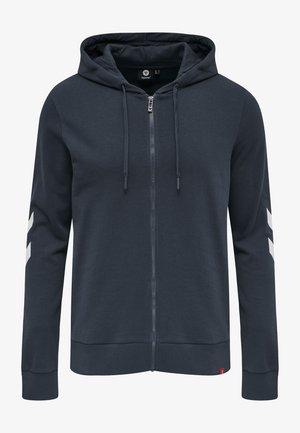 HMLLEGACY ZIP HOODIE - Zip-up sweatshirt - blue nights