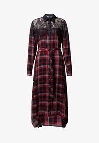 Desigual - SEATTLE - Shirt dress - black/red - 4