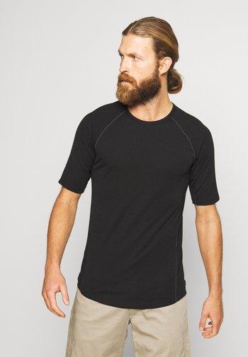 ZONE CREWE - Undershirt - black
