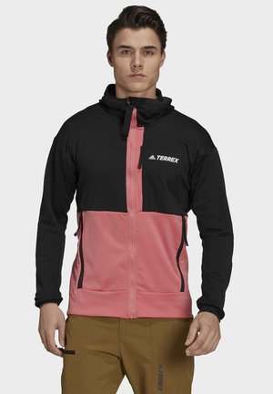 TERREX TECH FLOOCE HOODED - Training jacket - black