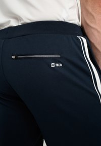 sergio tacchini - YOUNG LINE - Tracksuit bottoms - navy/white - 3