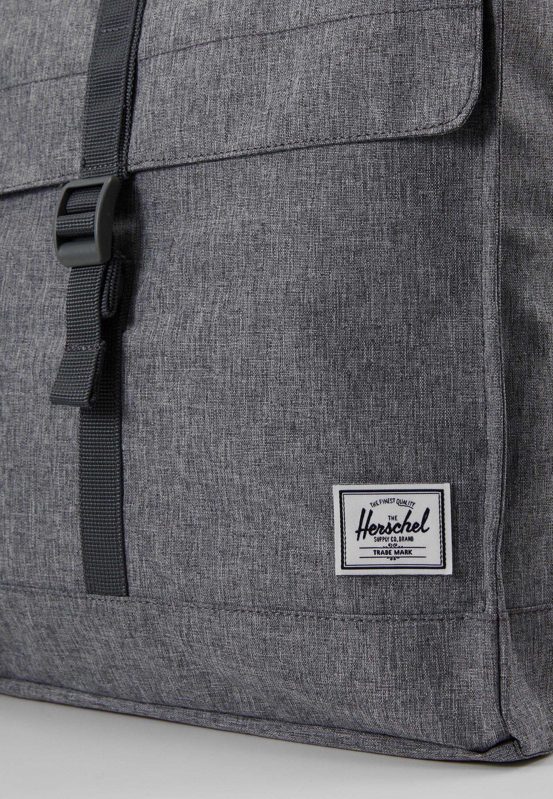 Herschel CITY MID VOLUME - Tagesrucksack - raven crosshatch/dunkelgrau-meliert - Herrentaschen HYadK