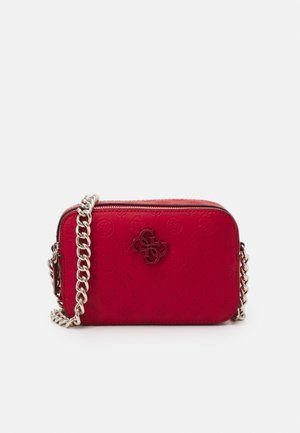 NOELLE CROSSBODY CAMERA - Schoudertas - red