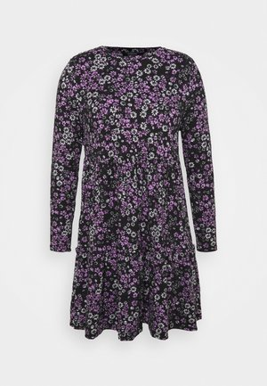 SOFT TOUCH TIERED SMOCK DRESS - Jersey dress - lilac
