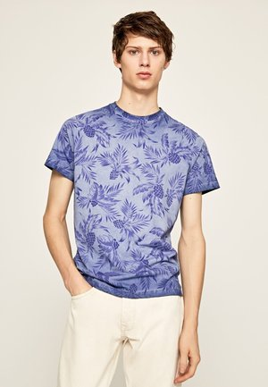 EMERSON - T-Shirt print - steel blue