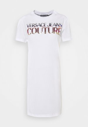 DRESS - Jerseykleid - white