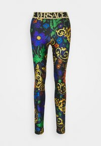 Versace Jeans Couture - Leggings - Trousers - dark blue - 0