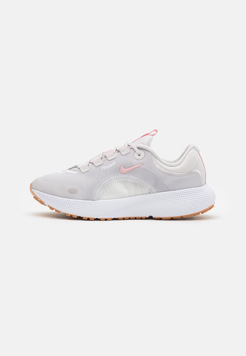 Nike Performance - REACT ESCAPE RN - Neutrala löparskor - vast grey/pink glaze/summit white/white